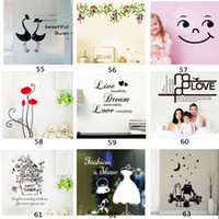 Wholesale Mixed order removable wall stickers stickers mural art decorative wall stickers x70cm children