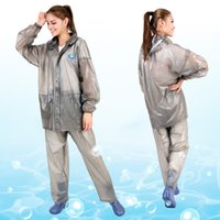 bicycle rain suit - transparent electric car motorcycle body poncho adult bicycle raincoat rain pants suit waterproof bag mail