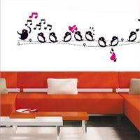 art telephone - Telephone Pole Bird Modern Style Pattern Decal Wallpaper Art wall stickers home decor