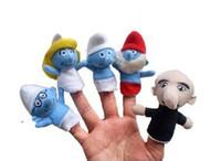 baby storytelling - Finger Puppets Baby Velvet Plush Toy pcsPlush dolls the Finger Puppets Educational Toys Storytelling Dolls