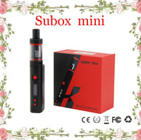 Wholesale Kanger Subox mini Starter Kit Subtank Mini V2 ohm OCC RBA Atomizers Kbox mini battery Variable Wattage W W subtank nano Clone