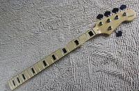 bass guitar frets - HOT fret neck Strings F Bass guitar Maple Neck With tuner peg Keys