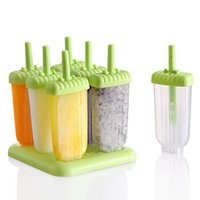Cheap Healthy DIY Ice Popsicle Maker Mold Ice Cream Mould Frozen Icepop Block Icy Pole Lolly Set Ice Cube Tray Free Shipping order<$18no track