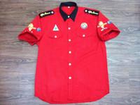 alfa romeo racing - new ALFA ROMEO auto race team pit crew shirt la camisa chemises red Size S M L XL XXL