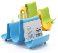 Wholesale Home Tools Plastic Pot Pan Shelf Cover Organizer Stand Holder Rack