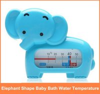 baby bathtub thermometer - FreeShipping Baby Thermometers Elephant Shape Bath Water Temperature Gauge Measuring The Bathtub Water Temperature order lt no trac