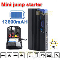 Wholesale Multi function jump starter emergency power mah v Auto output V V External Backup Battery Mini Power Bank Charge