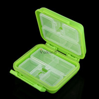 Cheap V1NF Portable 8 Cells Pocket Pill Medicine Box Storage Case Organizer Jewelry Box