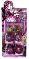 Wholesale Sets Monster High Seal Stamper Set Children Stationery Gift Party Favors Gifts