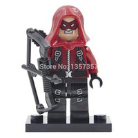 arsenal lot - Decool Super Heroes Minifigures Green Arrow Arsenal Building Blocks Sets Model Figure Toys