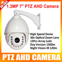 Wholesale New Full HD Outdoor PTZ Dome AHD Camera P With x Optical Zoom Lens Degree High Speed Pan Tilt Zoom IR m View