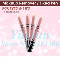 Wholesale 2pcs Makeup Remover Pen The eyes amp lip fixed makeup pen convinient portable Face Skin Care Deep Clean Easy Makeup