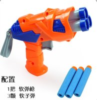 Wholesale 2015 Nerf N strike Elite Rampage Retaliator Series Blasters Refill Clip Darts electric toy guns soft nerf bullet outdoor toy bullet
