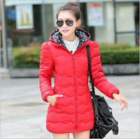 Wholesale 2014 Winter Luxury Style Women candy color outwear Jacket Coat Thicken Slim Long Down Parkas Thick Ladies elegant Outerwear coat