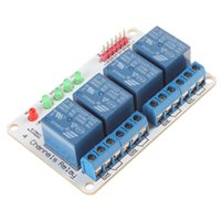 Wholesale high quality of Channel V V V Relay Module BK_RL4_01 by a light emitting diode DBP_214