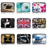 Wholesale Computer Laptop Tablet PC Painting Bag Case Cover Pouch Sleeve Soft Neoprene Mid Waterproof For Apple Macbook Pro Retina Air iPad