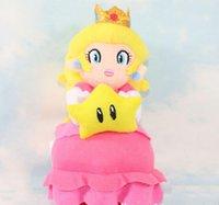 baby peach plush - Super Mario plush toys play super Mario d cartoon world peach princess baby cm plush dolls plush animal toys and plush toys