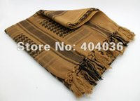 authentic scarf - Yellow Arab Shemagh Head Scarf Neck Wrap Authentic Best Cottton Palestine Arafat