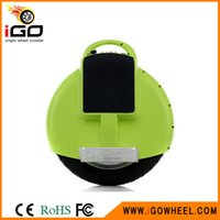 Wholesale New and Hot Selling Wh Scooter Black Self balancing Electric Unicycle Scooter Self balancing Motorcycle from Igowheel scooter