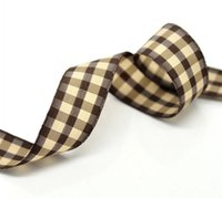 tartan plaid ribbon - Beijia Yards about M Coffee Tartan Plaid quot Wedding Craft Grosgrain Ribbon