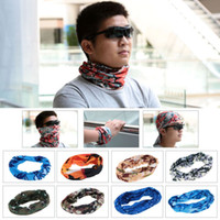Wholesale Hot Outdoor Scarf Fashion Multifunctional Male Female Headband Sports Veil Cycling Hiking Riding Head Scarf Face Mask