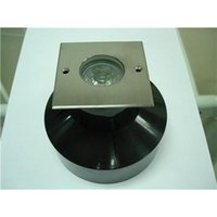 angle sleeve - V DC Degree Beam Angle x1W LED Underground Lamp Mini Square Lights with Plastic Sleeve for Plaza Decoration