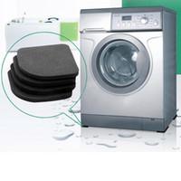 anti shock mat - High Quality Washing machine shock pads Non slip mats Refrigerator Anti vibration pad set