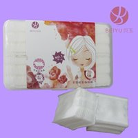 Wholesale Three layer pieces of cotton boxed cotton disposable cleansing cotton quality piece travel pack HZ165