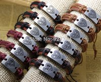 african bead patterns - Bracelets Multi Layer Braided Leather Handmade Combination Pattern Colorful Charm mens women Bracelets
