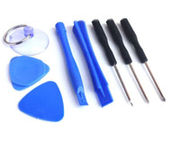 Wholesale 8 In Repair Pry Kit Opening Tools Point Star Pentacle Torx Slotted Screwdriver For IPhone S S Samsung set