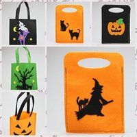 Plait woven basket - 2014 designs DIY non woven basket halloween gift bag hot selling festival gifts bags DIY handcrafts TOPB529