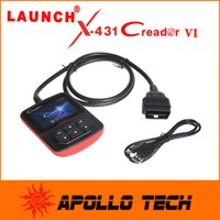 Wholesale 2015 original Launch Creader VI OBDii Code reader Color screen OBD2 Car Scan Tool Launch creader6
