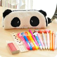 Cheap New!Fashion personality cute panda pencil case Multifunctional stationery pencil cases Stationery bags pen pouch xPeq2 A5