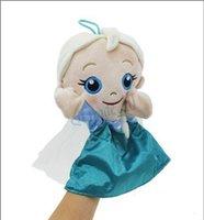 Unisex marionette - 2 designs cm Frozen Puppet Olaf Elsa Anna Plush Toy frozen Olaf Plush Stuffed pulsh doll Christmas gift for kids Frozen A