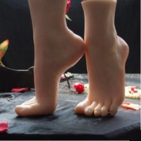 Wholesale Newest Asian Girls Foot Clones Feet Worship Fetish Foot Fetish Jobs Toys Mannequin Real Skin