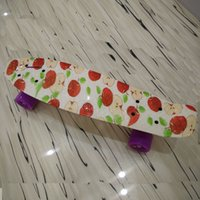 penny boards - Pennyboard Red Apple New Penny Inch Penny Skateboard for Chrismtas Penny Nickel Penny Board Cruiser Plastic Skateboard man woman Kids