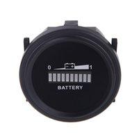 Wholesale Universal Digital LED Battery Indicator tester Gauge Status Charge Monitor Meter Gauge V V V V V