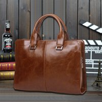 Wholesale new hot han edition men s bags for men s handbags retro one shoulder his business computer briefcase and retail