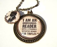 american quotes - 12pcs Sherlock Holmes inspired necklace Sherlock Literary Quote Necklace Book Lover Gift