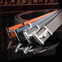 bentley business - Classic Scarecrow Bentley Men s Belts leather belt smooth buckle leather belt business young male Korean tidal male authentic