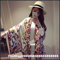 Wholesale Europe and the new rich multicolored decorations Cotton Long Scarf Shawl birds contend