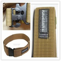 military equipment - Brand Military Tactical Canvas designer Belt Outdoor Casual Men s Belts Accessories Military Equipment For Men women Free