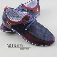 beijing business - Spring model Old Beijing cloth shoes men s shoes breathable light wear business casual shoes double color of England