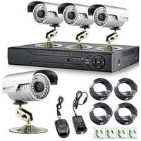 app resolution - Free DHL EMS CH DVR TVL High Resolution IR Security Surveillance Cameras CCTV System Real time video Recorder Iphone APP