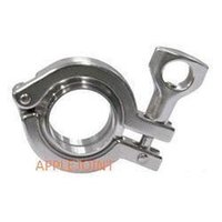 Wholesale 6 quot mm Stainless Steel Ferrule Set Couplings Heavy Clamp Tube Pipe Fittings Quick Connection