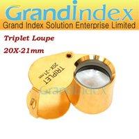 Wholesale Retail X mm jewellery Loupe GM C TRIPLET loupe