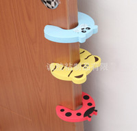 Wholesale 7 Colors safety door back stop children kids safety door holder EVA soft door holder for toddler boys girls safe J102207