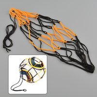 basketball games net - Nylon Net Bag Ball Carry Mesh Volleyball Basketball Football Champion Outdoor Multi Sport Game Black