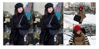 Wholesale 2015 Fashion Wool Unisex Caps Autumn Winter Hats For Men Womens Lovers Couples Outdoors Beret Ball Caps