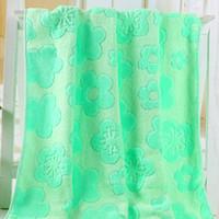 benefit fiber - Cotton jacquard towel employee benefits large bath towel bamboo fiber daisy bath towels for adults